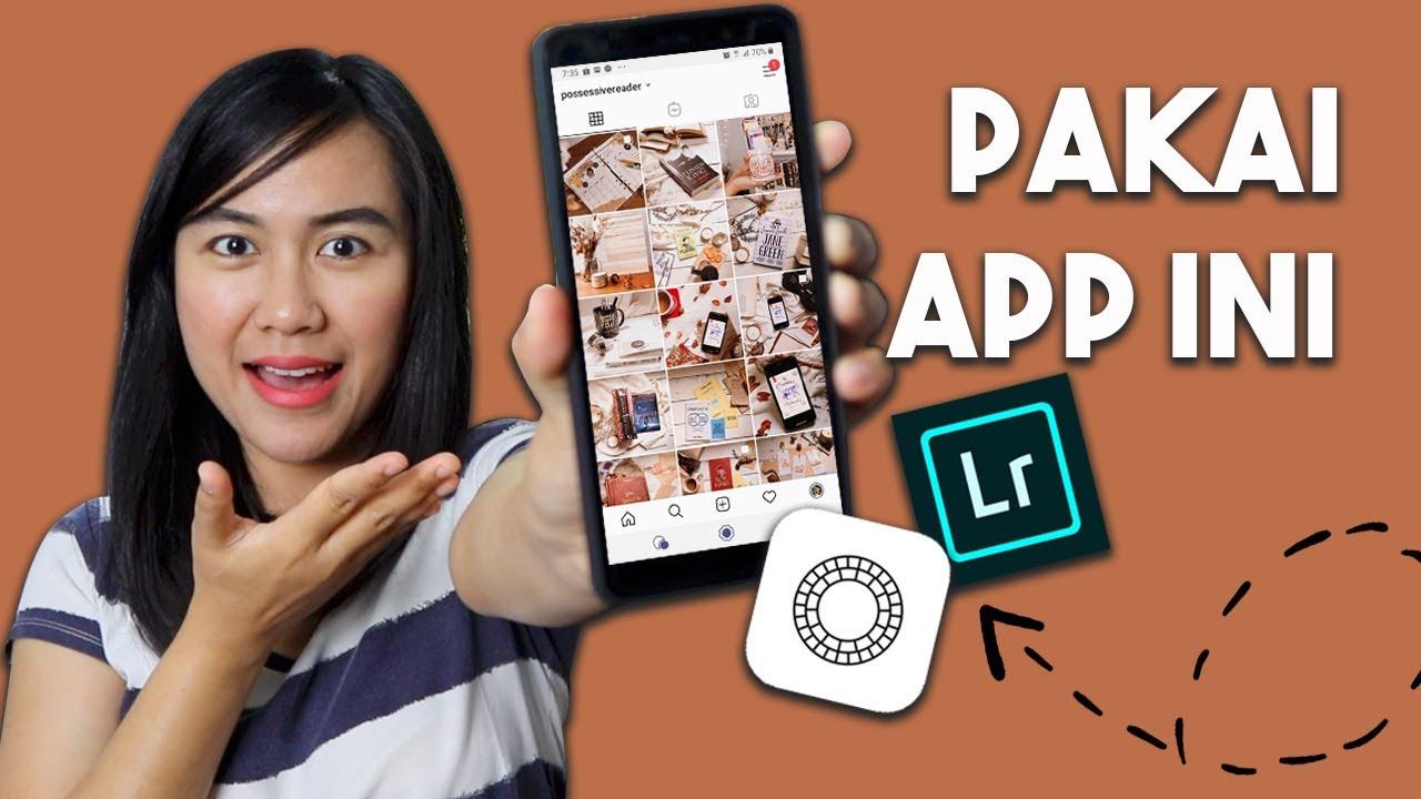 Bikin Feed Bookstagram Keren Pakai Aplikasi Edit Foto Kekinian Youtube