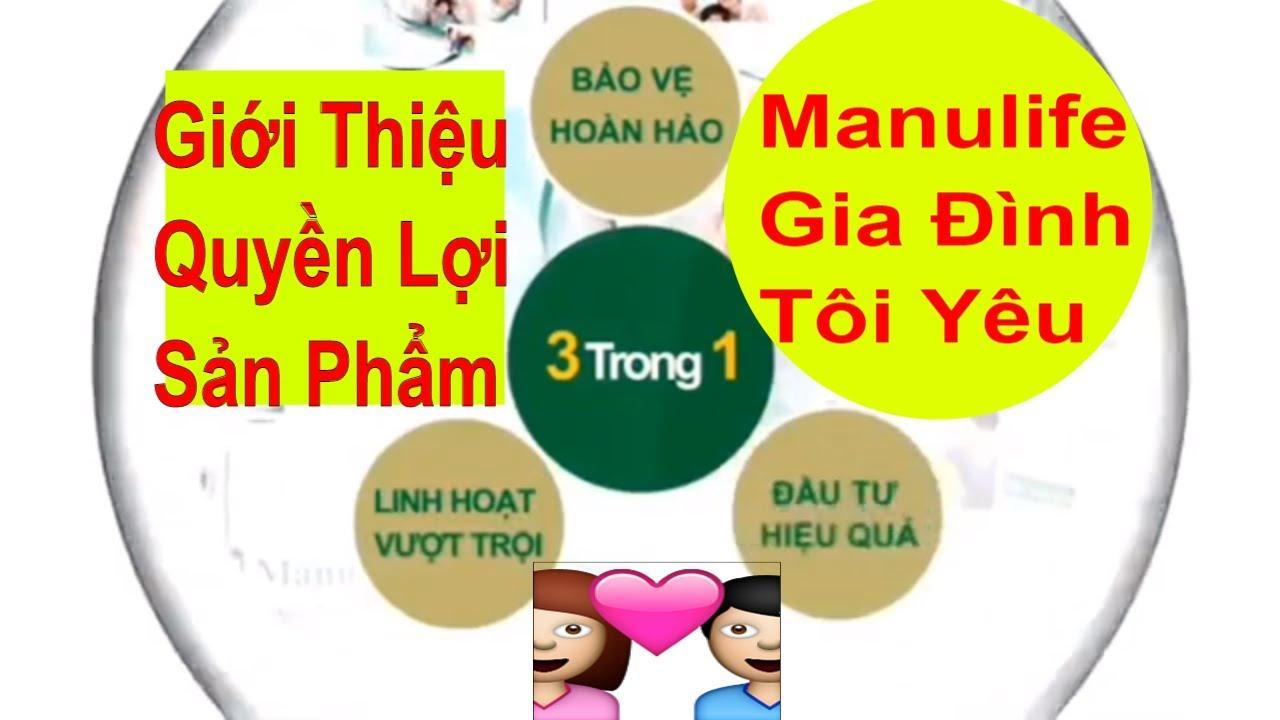 Giới Thiệu Chi Tiết Sản Phẩm Manulife Gia Đình Tôi Yêu- chiasebaohiem.com