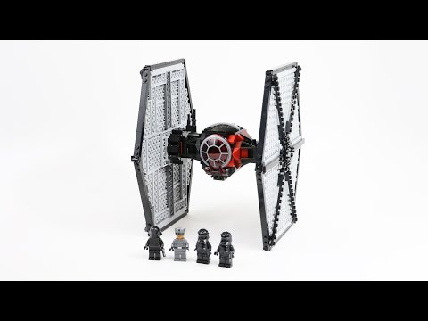 LEGO Star Wars First Order TIE Fighter (Timelapse & Review) - Set 75101