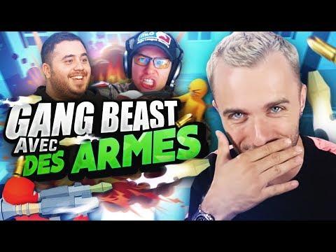 GANG BEASTS AVEC DES ARMES !  (Havocado ft. Locklear, Doigby)