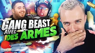 GANG BEASTS AVEC DES ARMES ! 😮 (Havocado ft. Locklear, Doigby)
