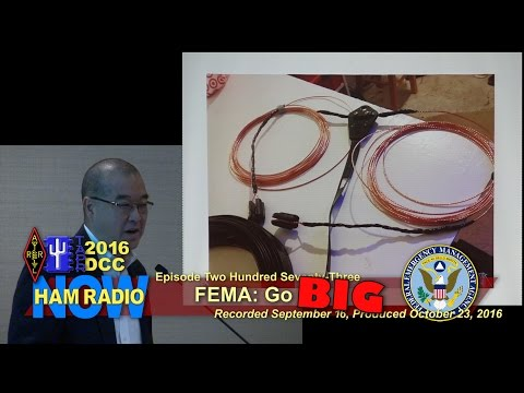 HRN 273: FEMA - Go BIG, from the 2016 DCC on HamRadioNow