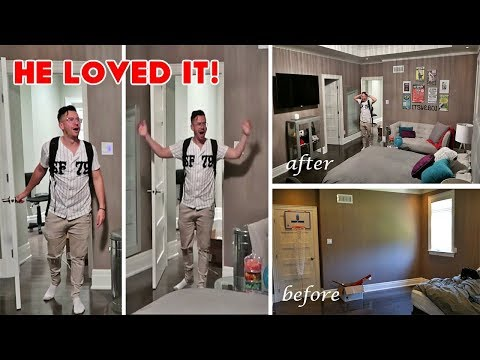 EPIC BOYFRIEND SURPRISE ROOM MAKEOVER (FOR ITSYEBOI) !!