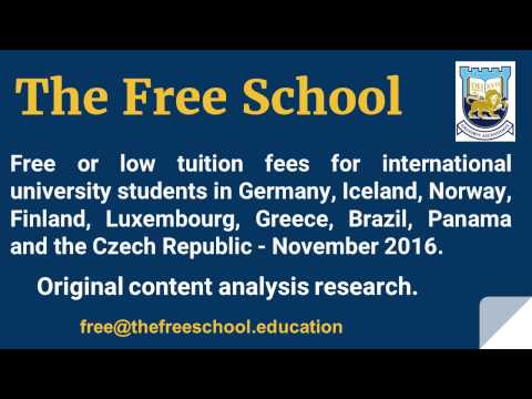 9 countries that offer free university tuition for international students.