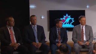 Hockey Canada names Sean Burke, Willie Desjardins to lead men