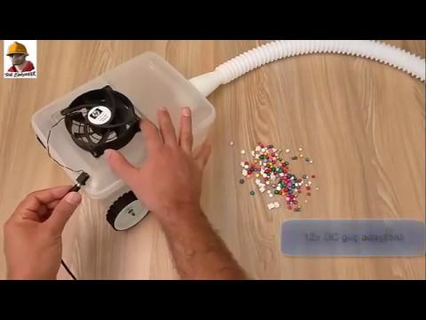 Elektrikli süpürge nasıl yapılır