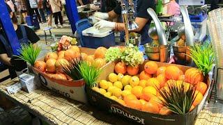 착즙 과일(오렌지, 파인애플, 사탕수수, 석류,코코넛,…