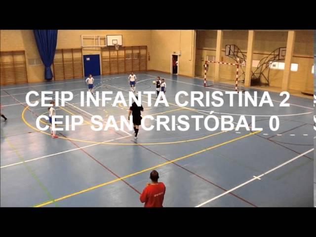 RESUMEN CUARTOS DE FINAL Infanta Cristina 3   San Cristóbal 2