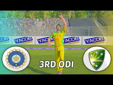INDIA V AUSTRALIA 2020 GAMING SERIES - 3RD ODI - ASHES CRICKET 19