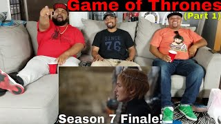 "Game of Thrones: Season 7 Episode 7 ""The Dragon and the Wolf"" Reaction (Part 1)"