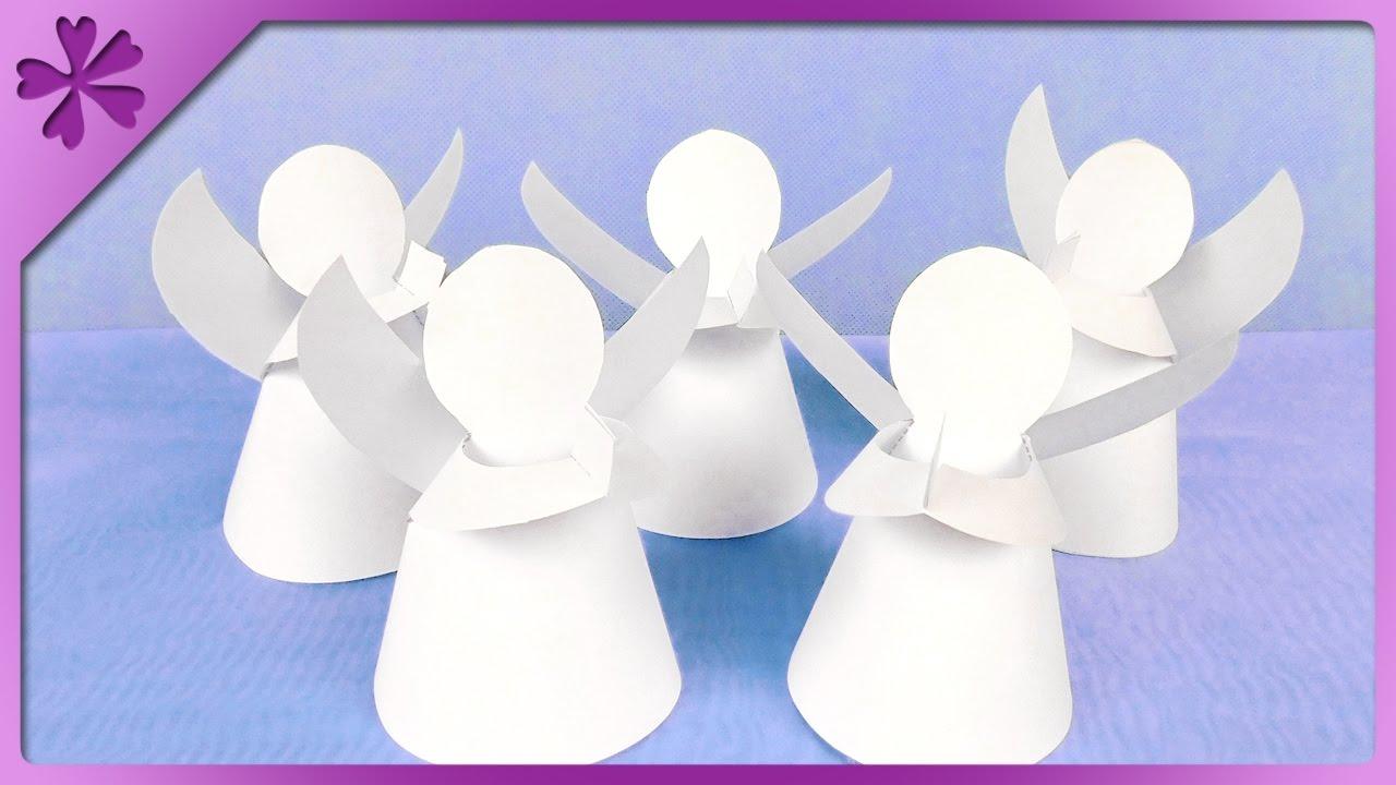 Diy paper angel eng subtitles speed up 295 youtube jeuxipadfo Images