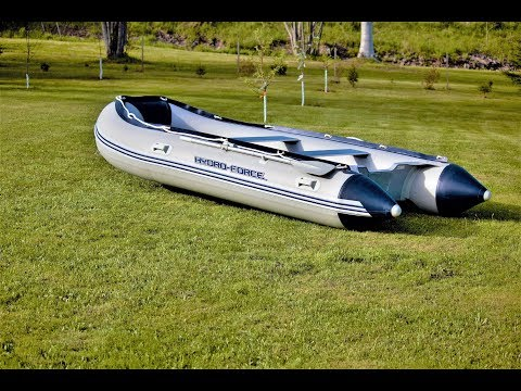 Inflatable Boat Assembly Hydro Force Sunsaille