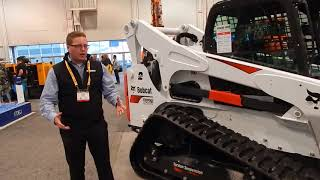 Video still for Bobcat Product Specialist Eric Dahl Introduces T870 Wheel Loader With Torsion Suspension