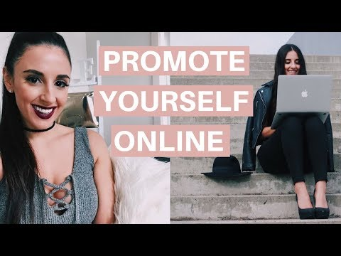 HOW TO FEEL CONFIDENT PROMOTING YOURSELF ONLINE