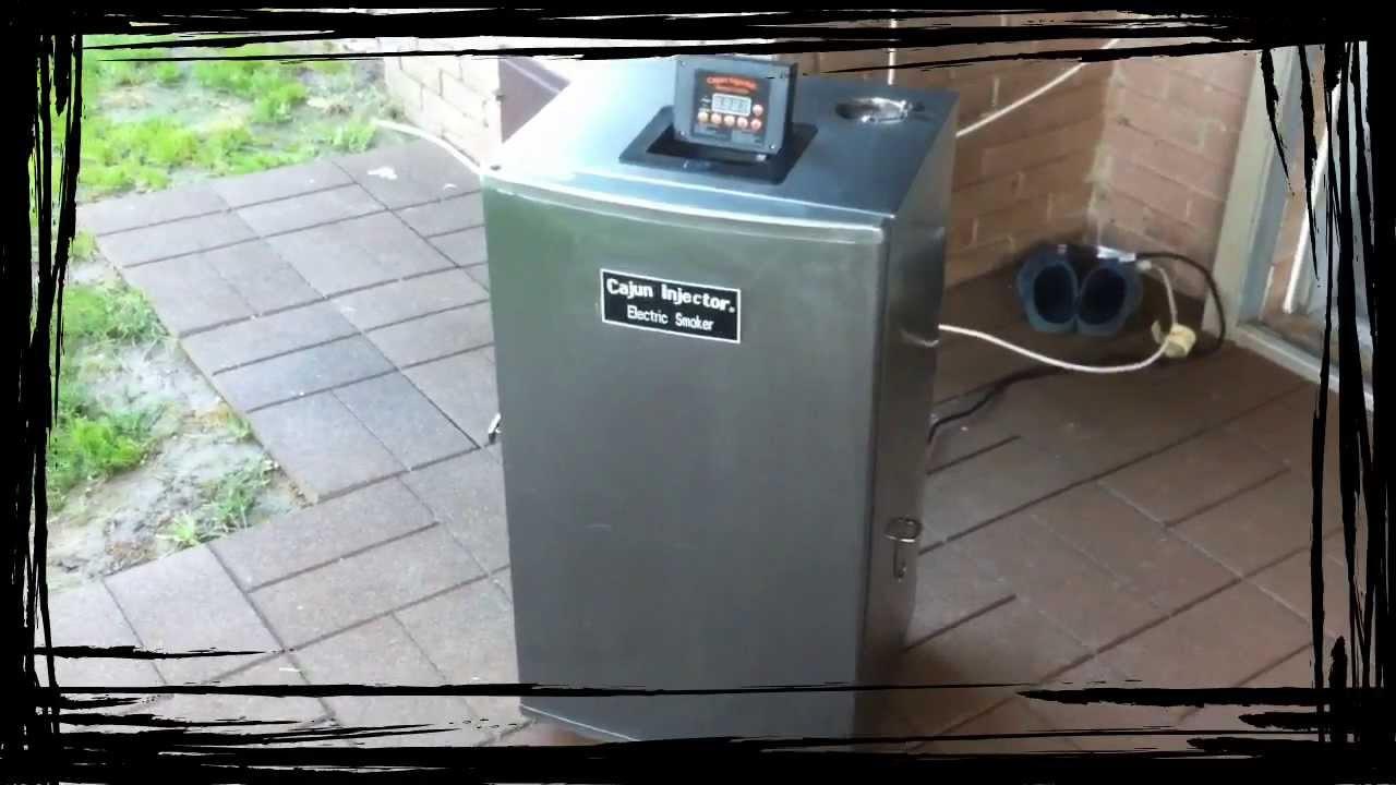 Cajun Injection Electric Smoker Youtube