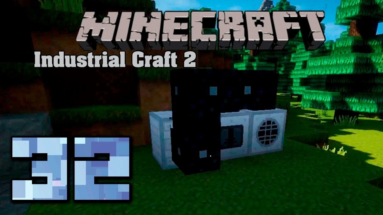 Minecraft Industrial Craft 2 Установка