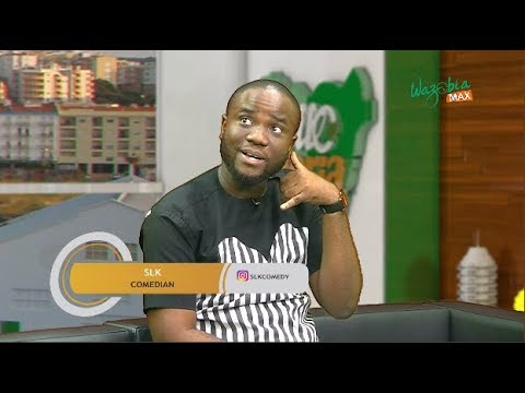 Comedian SLK On His Journey To Fame - Hello Nigeria