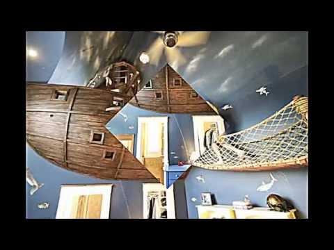 Kinderzimmer gestalten-- ein echtes Piratenschiff lädt zu ...