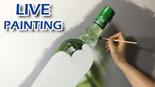 Painting Live - Green Bottle - 5th