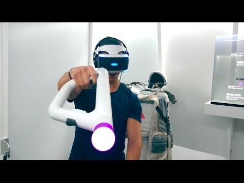 CRAZIEST PLAYSTATION VR EXPERIENCE EVER!