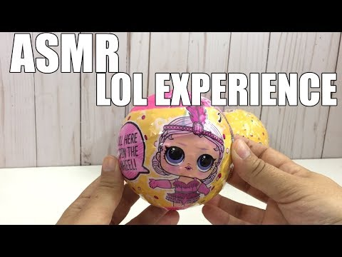 ASMR LOL Doll Confetti POP Opening | No Voice Only Crunch Sounds