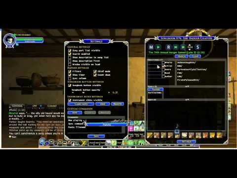 ABC Music Lesson 5: How to use Songbook Plugin - LOTRO