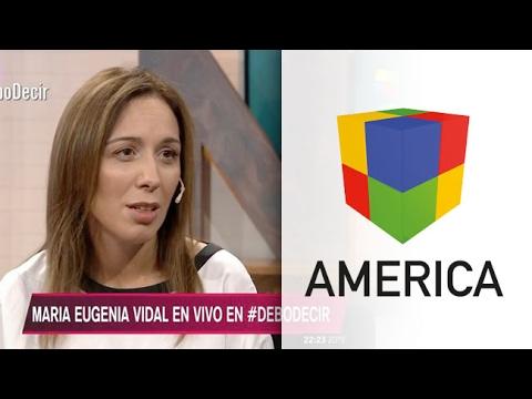 Pongo las manos en el fuego por Mauricio, dijo María Eugenia Vidal para defender el acuerdo con el Correo