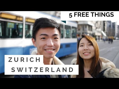 Zurich, Switzerland- Top 5 FREE things to do | Travel Guide