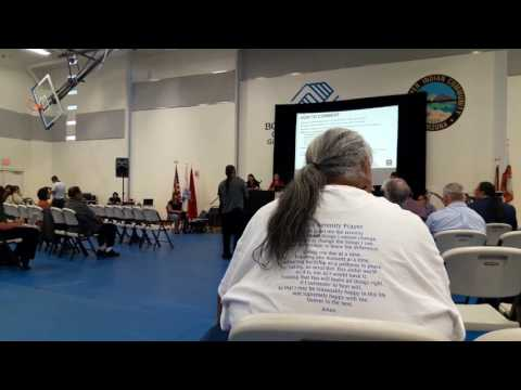 Loop 202 Hearing with US Army Corps of Engineers