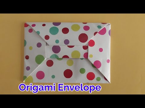 How to make origami paper envelope | paper envelope craft ideas handmade | DIY-easy paper envelope