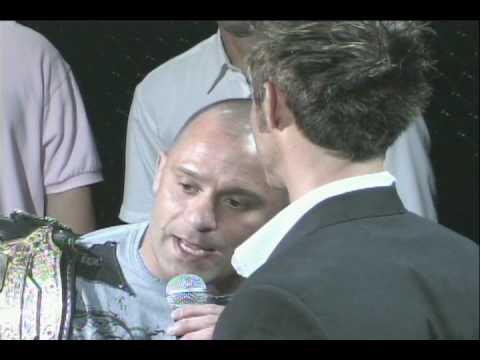 Matt Serra trash talks Matt Hughes