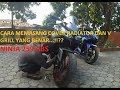 Cara....!! Memasang Cover Radiator Dan V Grill Kawasaki FI 250 ABS Ltd
