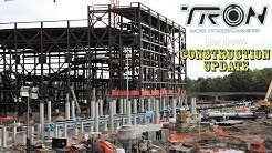 Walt Disney World Magic Kingdom Tron Roller Coaster Construction Update 10.21.19  NEW TRACK!