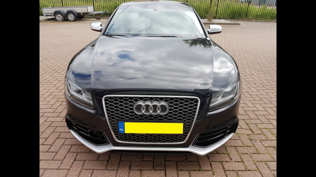 Audi Rs5 Bodykit For Coupe And Sportback 2007 2011 Youtube