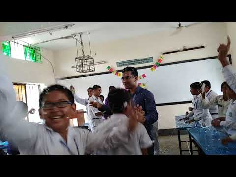 Class Party of Class Five DRMC 2018