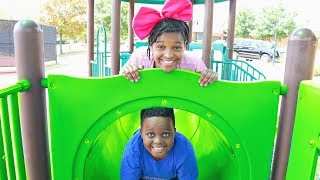 Shiloh and Shasha's PLAYGROUND COMPETITION! - Onyx Kids