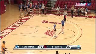 Seton Hall at St. John's - Volleyball