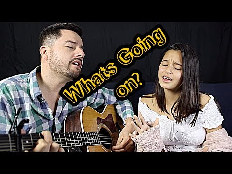 What's Going On? Acoustic Cover By Jorge & Alexa Narvaez | REALITYCHANGERS