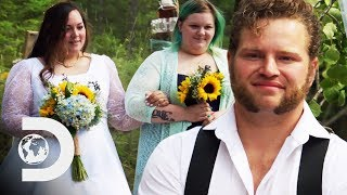 It's gabe and raquell's wedding day, the whole family are there to support happy couple.subscribe discovery uk for more great clips:http://www.you...