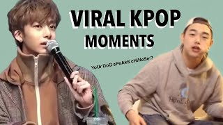 RANDOM KPOP MOMENTS THAT WENT VIRAL