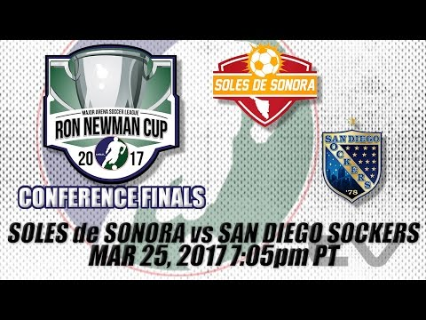 Western Conference Finals Game Two - Soles de Sonora vs San Diego Sockers