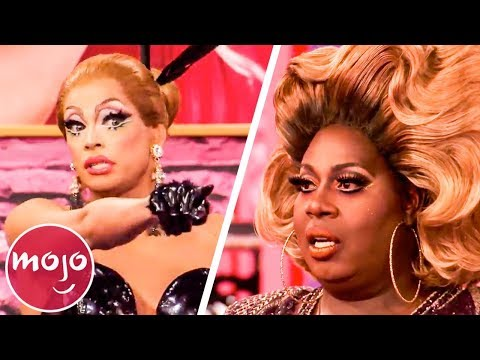 Top 10 Unaired Reads from RuPaul's Drag Race - 동영상