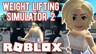 VI BLIVER BUM-ST-RKE // Roblox - Simulador de levantamiento de pesas 2