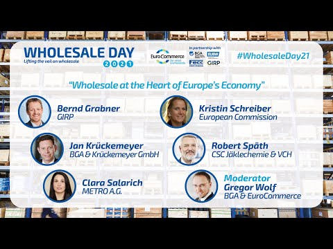 Panel discussion:Wholesale at the heart of Europe's economy