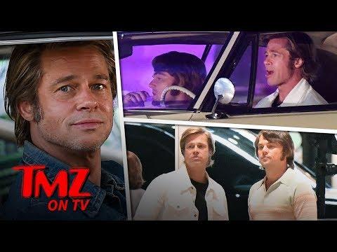 Brad Pitt & Leonardo DiCaprio Rock '60s Looks!  TMZ TV