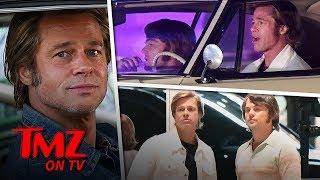 Brad Pitt & Leonardo DiCaprio Rock '60s Looks! | TMZ TV