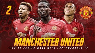 FIFA 19 Career Mode: Manchester United #2 - PREMIER LEAGUE SEASON BEGINS! (FIFA 19 Gameplay)