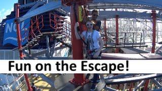 Adventure & Dinner at La Cucina on the Norwegian Escape Cruise Ship [Vlog ep19]