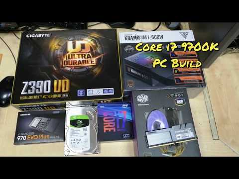 PC Build With Gigabyte Z390 UD Motherboard & Intel Core I7 9700K Unlocked Processor | Full Setup
