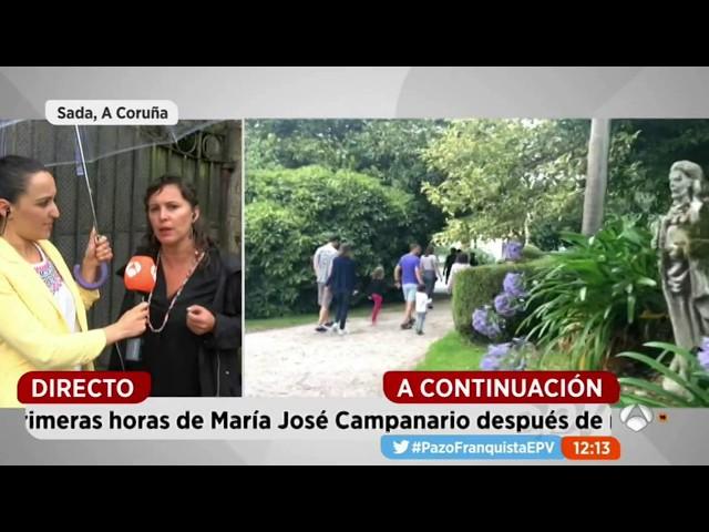 """Ana Miranda en """"Espejo público"""" de Antena 3: Levamos 30 anos denunciando a situación do Pazo de Meirás"""